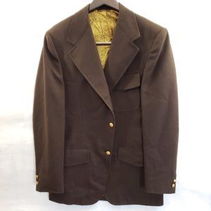 Vintage Country Casuals Brown Western Sport Jacket